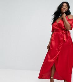 Платье макси Truly You - Красный