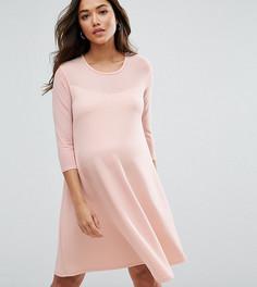 Свободное платье Bluebelle Maternity - Розовый