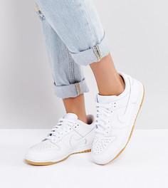 Белые кроссовки Nike Dunk Low Essential - Белый