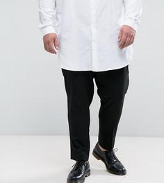 Черные зауженные брюки ASOS PLUS - Черный
