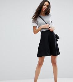 Расклешенная мини-юбка с карманами ASOS TALL - Черный