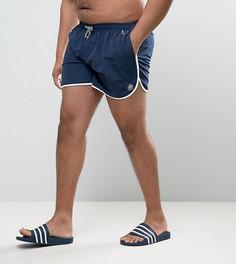 Темно-синие шорты для плавания Duke PLUS - Темно-синий