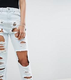 Рваные джинсы в винтажном стиле ASOS TALL ORIGINAL - Синий