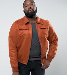 Куртка из искусственной замши Barneys PLUS - Рыжий Barneys Originals
