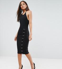 Платье миди NaaNaa Tall - Черный