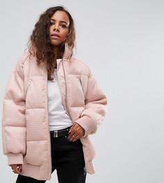 Дутая куртка ASOS PETITE - Розовый