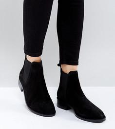 Замшевые ботинки челси ASOS ABSOLUTE - Черный