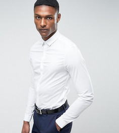 Белая рубашка скинни ASOS TALL - Белый