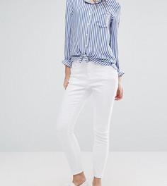 Белые джинсы скинни ASOS PETITE Ridley - Белый