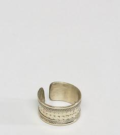 Кольцо с гравировкой Reclaimed Vintage Inspired - Золотой