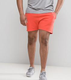 Оранжевые трикотажные шорты ASOS PLUS - Розовый
