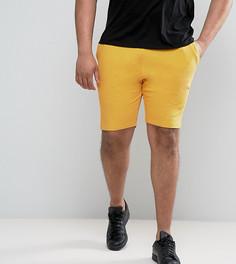 Желтые трикотажные шорты зауженного кроя ASOS PLUS - Желтый