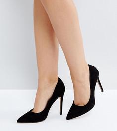 Туфли на высоком каблуке с острым носом ASOS PARIS - Черный