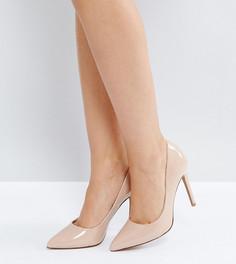 Туфли на высоком каблуке с острым носом ASOS PARIS - Бежевый