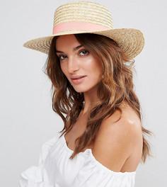 Соломенная шляпа South Beach - Бежевый