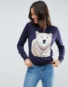 Джемпер с медведем Sugarhill Boutique - Темно-синий