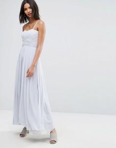 Платье Y.A.S Molly - Серый