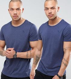 2 темно-синих футболки G-Star Raw - Темно-синий