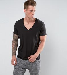 2 черные футболки с V-образным вырезом G-Star - Черный