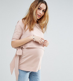 Футболка для кормящих мам ASOS Maternity - Розовый