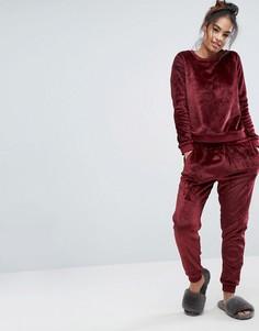 Флисовая пижама ASOS - Красный