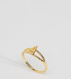 Кольцо с инициалом А Rock N Rose - Золотой