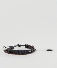 Набор из браслета и кольца черного цвета ASOS - Черный