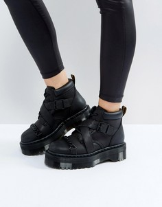 Ботинки на платформе Dr Martens Beaumann - Черный
