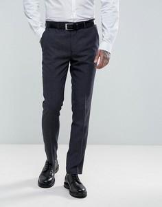 Синие брюки скинни с геометрическим узором Harry Brown - Синий
