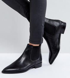 Кожаные ботинки челси ASOS AUTOMATIC - Черный