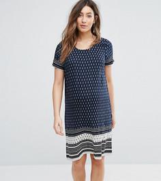 Платье с принтом Mamalicious - Синий Mama.Licious