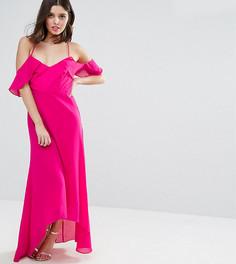 Платье макси TD by True Decadence Petite - Розовый