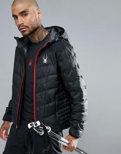 Пальто с капюшоном Spyder Geared - Черный