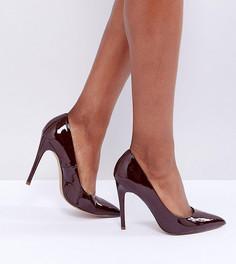 Туфли на высоком каблуке с острым носом ASOS PARIS - Коричневый