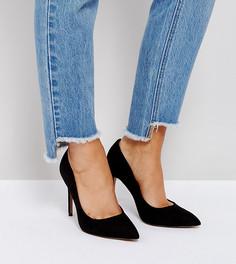 Туфли на высоком каблуке для широкой стопы ASOS PARIS - Черный
