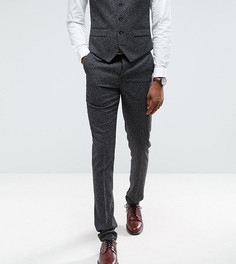 Серые облегающие брюки Harry Brown TALL - Серый
