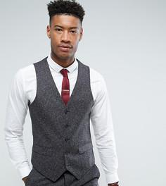 Серый облегающий жилет Harry Brown TALL - Серый