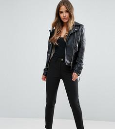 Стретчевые брюки скинни ASOS PETITE - Черный
