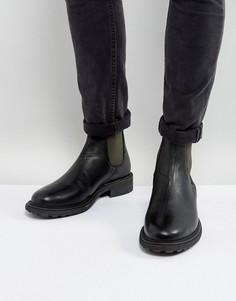 Кожаные ботинки челси Hudson London Caslon - Серый