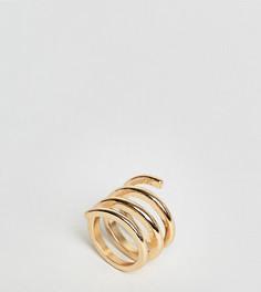 Кольцо ASOS - Золотой