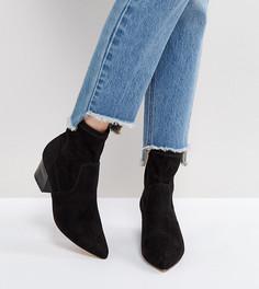 Ботинки с острым носком ASOS REGIONAL - Черный
