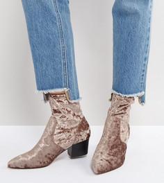 Ботинки с острым носком ASOS REGIONAL - Бежевый