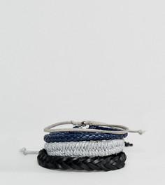 4 серых браслета ALDO - Серый