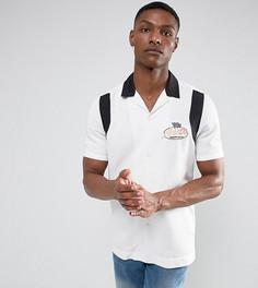 Рубашка классического кроя из вискозы ASOS TALL - Белый