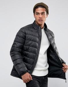 Легкая дутая куртка D-Struct - Черный