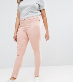 Узкие цветные джинсы Junarose - Розовый