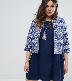 Куртка с мозаичным принтом Alice & You - Синий