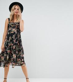 Платье с цветочным принтом ASOS Maternity - Мульти