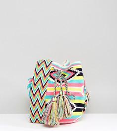 Разноцветная сумка Jardin Del Cielo - Розовый