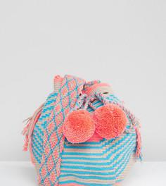 Маленькая сумка пастельной расцветки Jardin Del Cielo Wayuu - Мульти